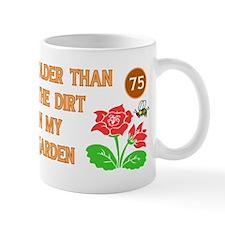 Gardener's 75th Birthday Mug