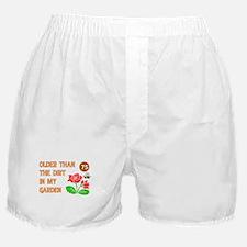 Gardener's 75th Birthday Boxer Shorts