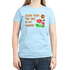 Gardener's 70th Birthday T-Shirt
