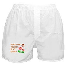 Gardener's 65th Birthday Boxer Shorts