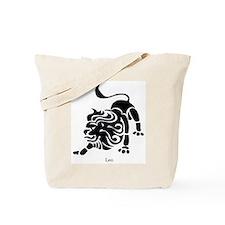 Leo Zodiac Astrology Tattoo Tote Bag