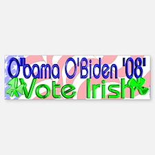 Vote Irish Bumper Bumper Bumper Sticker