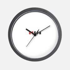 00 God(TM) Wall Clock