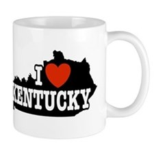 I Love Kentucky Mug