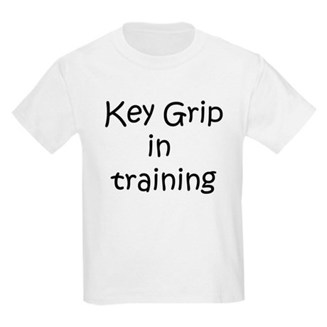 Key Grip in training Kids Light T-Shirt
