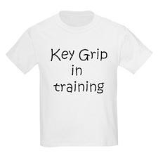 Key Grip in training T-Shirt