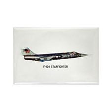 F-104 Starfighter Rectangle Magnet