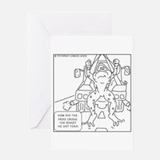 Cool Tow truck Greeting Card