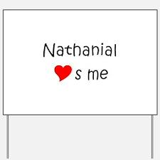 Cool Nathanial Yard Sign