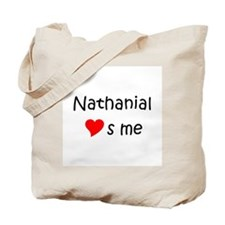 Unique Heart nathanial Tote Bag