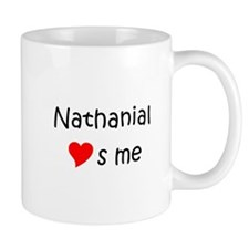 Unique Heart nathanial Mug