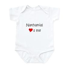 Unique Heart nathanial Infant Bodysuit