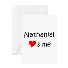 Nathanial Greeting Card