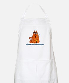 pirate kitty BBQ Apron