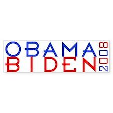 Obama Biden 2008 Bumper Bumper Sticker