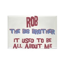 Rob - All About Big Brother Rectangle Magnet