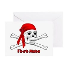 First Mate Greeting Card