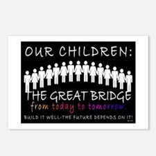 OUR CHILDREN: THE BRIDGE Postcards (Package of 8)