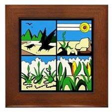 Parable of the Sower Framed Tile