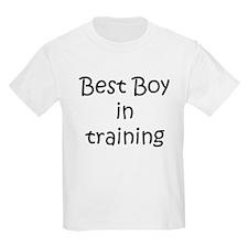Best Boy in training T-Shirt