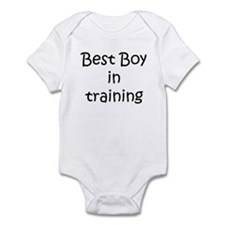 Best Boy in training Infant Bodysuit