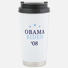 Obama Biden '08 Stainless Steel Travel Mug