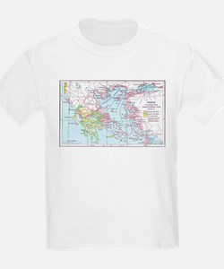 Map of Greece T-Shirt