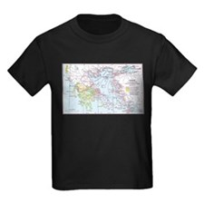 Map of Greece T