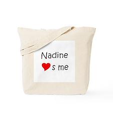 Unique Nadine Tote Bag