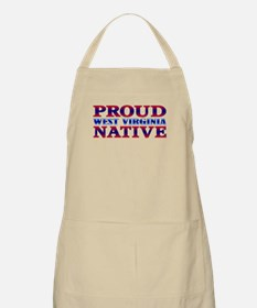 Proud West Virginia Native BBQ Apron