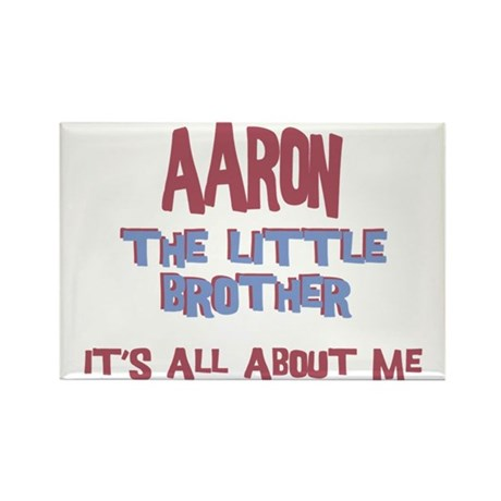 Aaron - All About Little Brot Rectangle Magnet