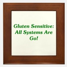 Gluten Sensitive: Go! Framed Tile