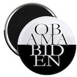 Obama-Biden Text Diamond Magnet