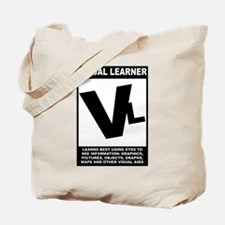 Visual Learner Tote Bag