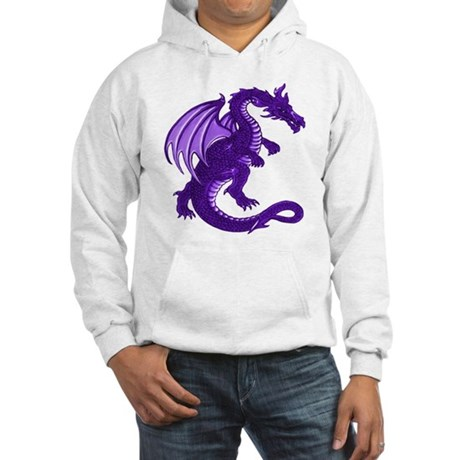 Purple Dragon Hooded Sweatshirt