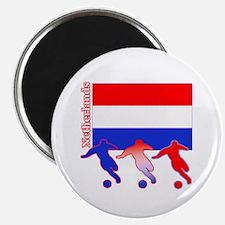 "Soccer Holland 2.25"" Magnet (10 pack)"