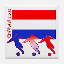 Soccer Holland Tile Coaster