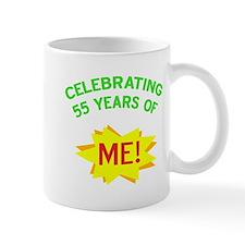 Celebrate My 55th Birthday Mug
