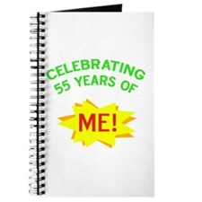 Celebrate My 55th Birthday Journal