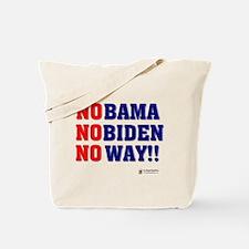 Nobama NoBiden Tote Bag