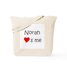 Love norah Tote Bag