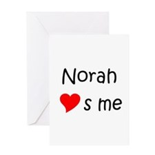 Norah Greeting Card