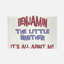 Benjamin - All About Brother Rectangle Magnet