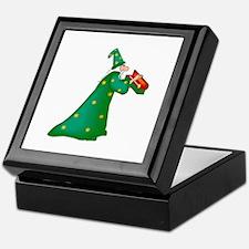 Green witch Keepsake Box