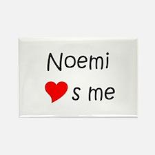 Funny Noemi Rectangle Magnet