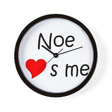 Unique Noe Wall Clock