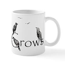 crow design Small Mug