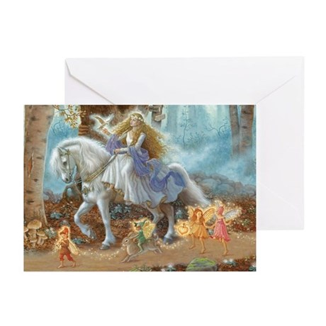 Faerie Princess Greeting Cards (Pk Of 10)