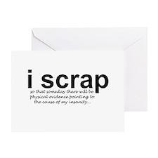scrapbooking Greeting Card