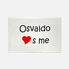 Cool Osvaldo Rectangle Magnet